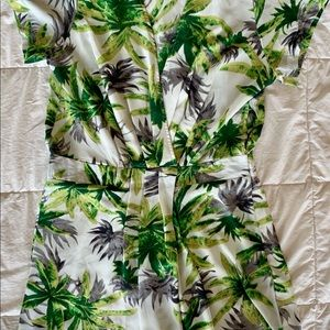 Like new Jungle motif Hype Rompers